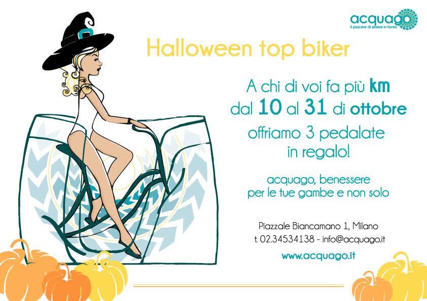 Acquago Halloween Top Biker