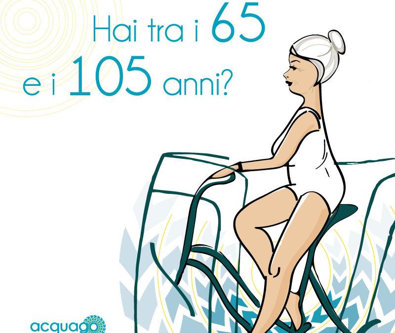 Promo acquago dedicata agli over 65: grandi benefici per piccoli prezzi